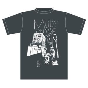 【mudy】街Tシャツ グレー S