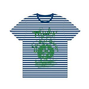 【mudy】ゴーストTシャツ ボーダー L