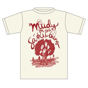 【mudy】ゴーストTシャツ ナチュラル