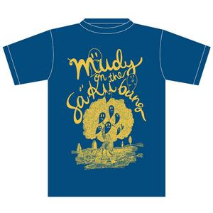 【mudy】ゴーストTシャツ ネイビー