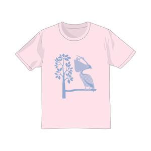 【te´】ペリカンTシャツ ピンク