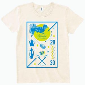 【te'】オフィシャルTシャツ2015 オフホワイト