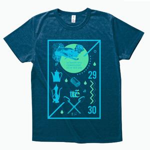 【te'】オフィシャルTシャツ2015 ヘザーディープネイビー
